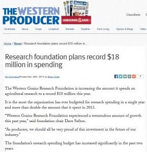 18 million in spending