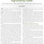 Agronomy Rules
