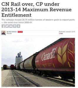 CN Rail over