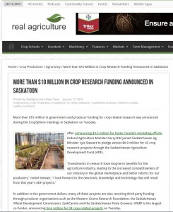 Real AG Crop Funding