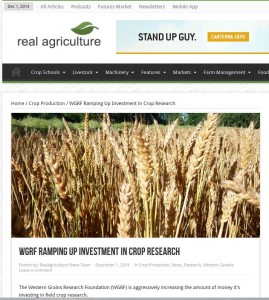 Real Ag Research Budget