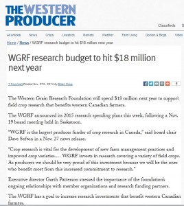 WP Research Budget