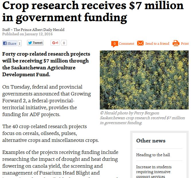 Global Crop Research