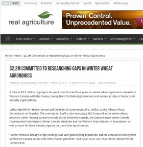 winter wheat agronomy