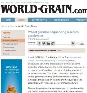 world grain genome